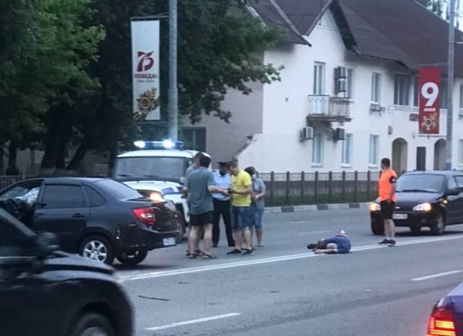 В Брянске пострадавший в ДТП на Ульянова мужчина нарушил ПДД