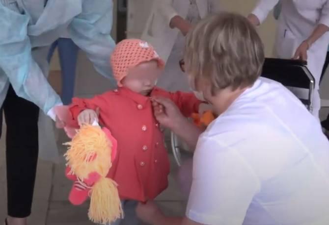 Истощенную брянскую девочку Ирину выписали из больницы