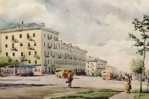Брянцам предложили вспомнить историю города по акварельному рисунку