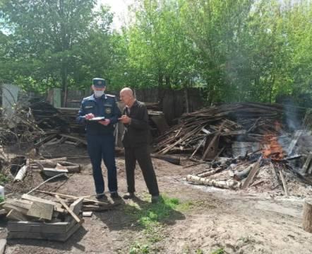 В Карачевском районе за поджог травы и мусора с начала года наказали 23 человека