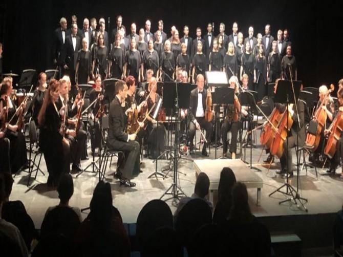 Брянские музыканты выступили перед послом Норвегии в России