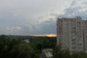 На Брянск обрушился обещанный синоптиками ливень