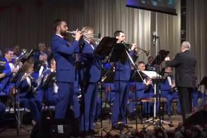 Брянский духовой оркестр отметил 15-летний юбилей