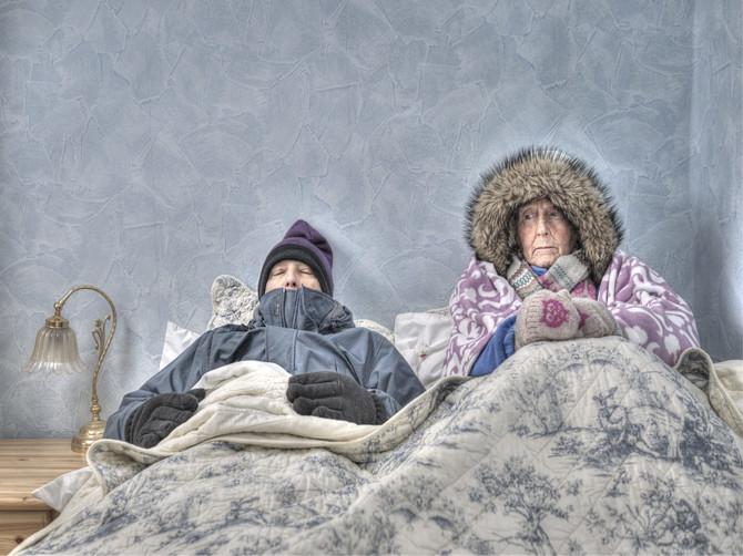 Жители Унечи пожаловались на адский холод в квартирах