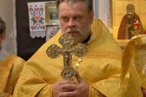 Настоятель унечского храма отметил 25-летие своей хиротонии