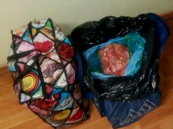 В Брянской области из украинских и молдавских поездов сняли тонну продуктов