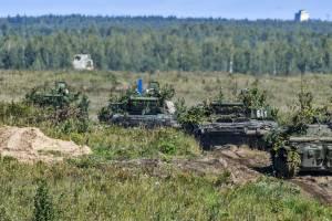 Брянские военные отправились на учения с беларусами «Запад-2021»