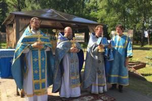В брянском поселке Теплое престольный праздник отметили концертом