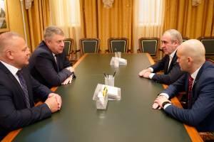 В Брянскую область приехал Кадыров