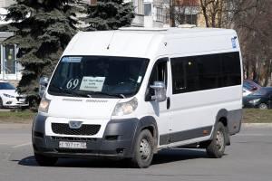 В Брянске маршрутку №69 продлят до ТРЦ «Аэропарк»