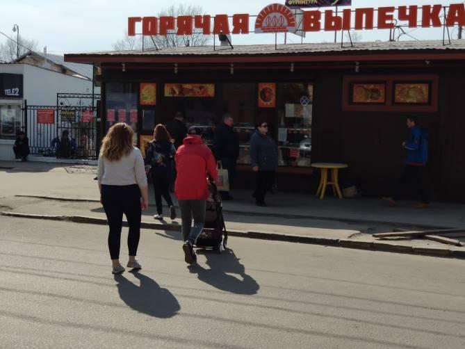 В Брянске торговцы уличной едой проигнорировали запрет на работу
