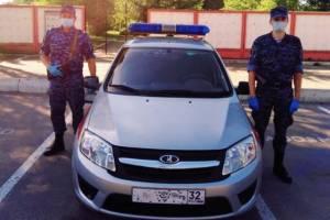 В Брянске росгвардейцы нашли пропавшего 68-летнего пенсионера