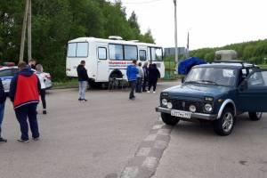 Брянских водителей тормозят при въезде в Орловскую область