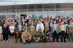В Стародубе наградили участников Приштинского марш-броска