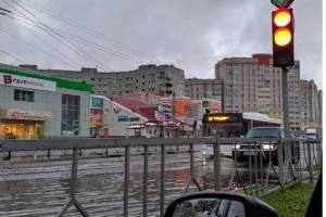 В Брянске пообещали избавить проспект Московский от наводнений