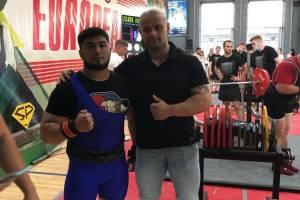 Студент Брянского техуниверситета победил на Кубке Европы по пауэрлифтингу
