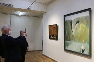 В Брянске открылась выставка картин белорусского художника Гавриила Ващенко