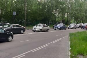 В Брянске из-за ДТП на Крахмалева образовалась огромная пробка
