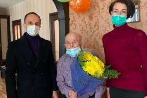 Брянский ветеран Никифор Шевелев отметил 94-летие