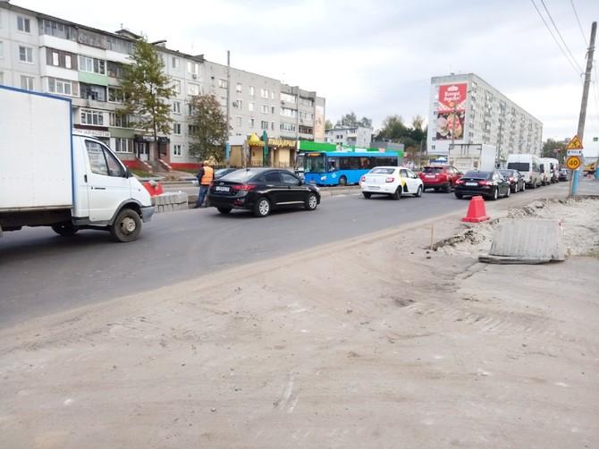 В Брянске на улице Авиационной появится разделительная полоса