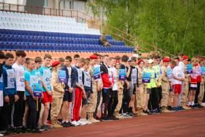 В Клинцах стартовала спартакиада допризывной молодежи