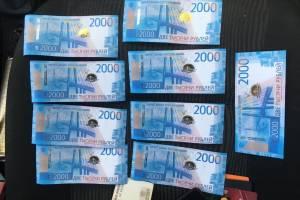 В Брянске задержали фальшивомонетчивов из Воронежской области