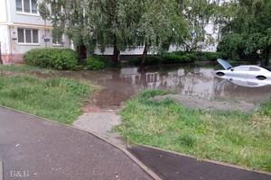 Брянцам напомнили об ужасах затопленного переулка Пилотов