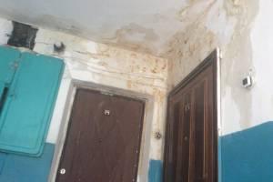 В Унече пожаловались на жуткое состояние квартир из-за протечки крыши