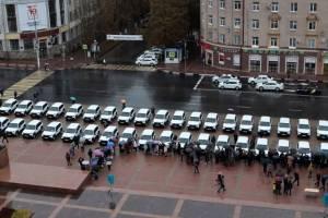Брянским больницам передали 42 медицинских автомобиля