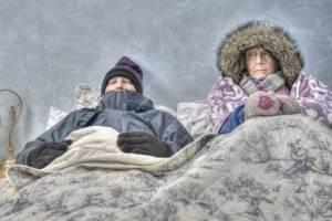 Брянцы стали спасаться от холода с помощью кондиционеров и обогревателей