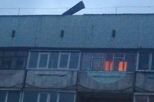 В Брянске над двором по улице 50-й Армии нависла опасность