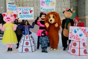 Актеры Брянского ТЮЗа подарили праздник детям из онкоцентра