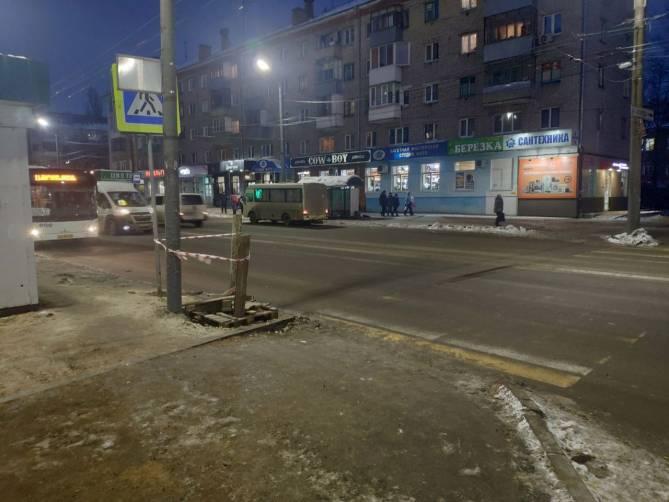 В Брянске на «Березке» перенесли пешеходный переход