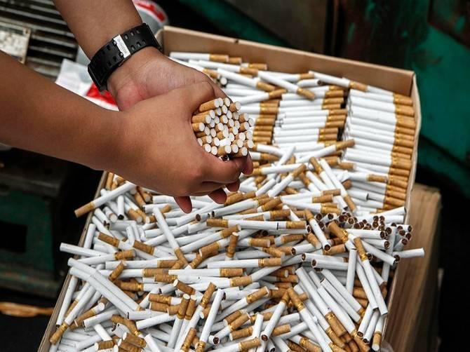 У брянца изъяли контрафактные сигареты на миллион рублей