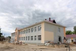 В Навле новый корпус основной школы откроют к 1 сентября
