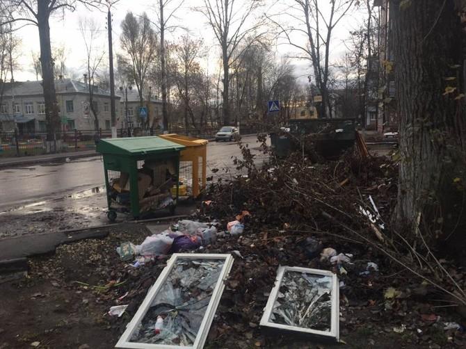 В Брянске Новый Городок пообещали избавить от свалок к концу ноября