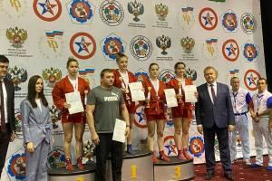 Брянские самбисты привезли семь медалей со Спартакиады молодежи России