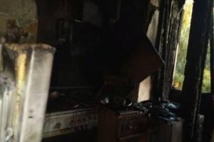 В Унече сгорела квартира многодетной семьи: у брянцев просят помощи