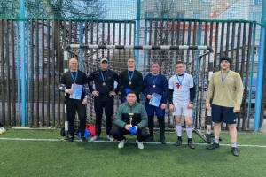 Брянские росгвардейцы заняли 3 место на турнире по мини-футболу