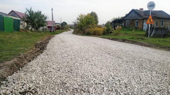 В поселке Локоть начался ремонт улицы Заводской