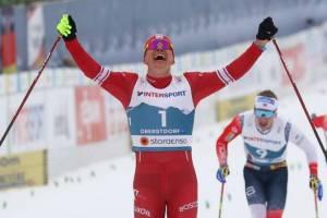 Президент Путин поздравил брянского лыжника Большунова с победой