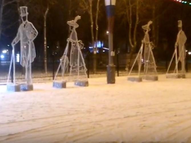Брянский блогер заметил в Майском парке армию клонов