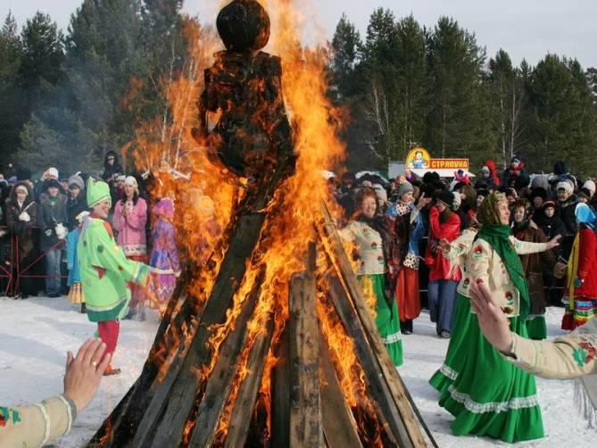 В Брянске масленичные гулянья пройдут 1 марта