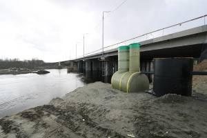 Паводок помешал строительству дороги от Metro к вокзалу Брянск-Орловский