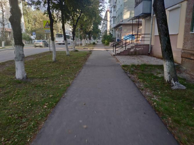 Недоступная среда по-брянски: на Володарке пытаются, но не могут
