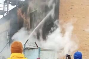 Из-за пожара в котельной брянцы остались без тепла и горячей воды