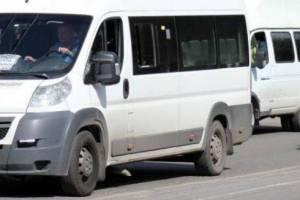 В Брянске пожаловались на поведение водителя маршрутки №50