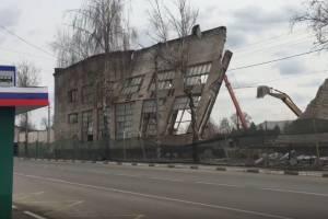 В Карачеве снесли цеха бывшего поставщика московского ЗИЛа
