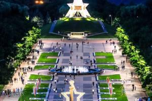 В Брянске начался ремонт звезды на Кургане Бессмертия