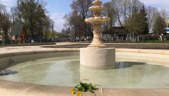 В усадьбе Михаила Романова в Локте провели пробный запуск фонтанов